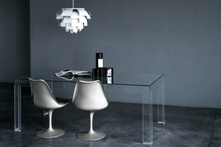 Atlantis high table  by  GLAS ITALIA