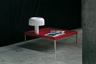 Bau low table  by  GLAS ITALIA