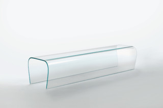 Bent Bench  by  GLAS ITALIA