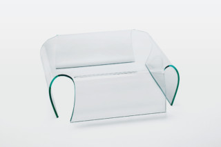 Bent Coffee table  by  GLAS ITALIA