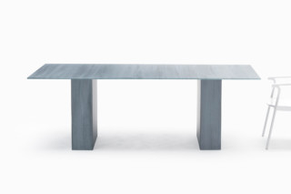 Brushstroke dining table  by  GLAS ITALIA