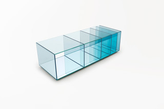 Deep Sea table  by  GLAS ITALIA