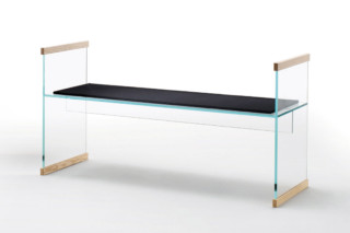 Diapositive bench  by  GLAS ITALIA