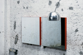 Giano wall mirror  by  GLAS ITALIA