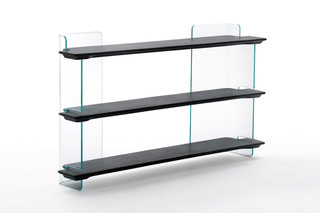 Highline shelf  by  GLAS ITALIA