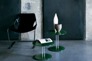 Hub low table  by  GLAS ITALIA