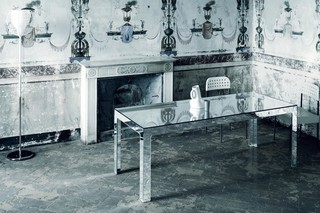 Mirror Mirror dining table  by  GLAS ITALIA
