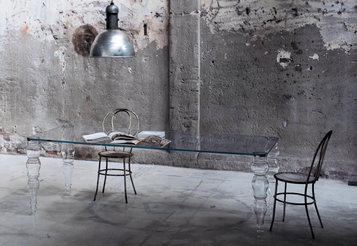 Esstisch glas modern  Post Modern Esstisch von GLAS ITALIA | STYLEPARK