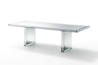 Prism table  by  GLAS ITALIA