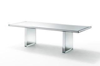 Prism Tisch  von  GLAS ITALIA