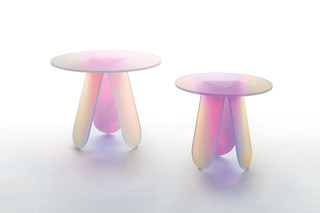 Shimmer side table  by  GLAS ITALIA
