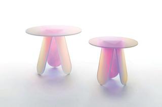 Shimmer Beistelltisch  von  GLAS ITALIA