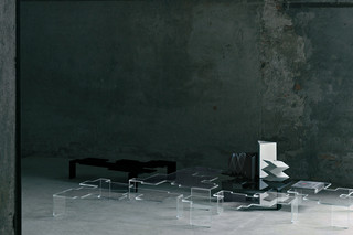 Space Invaders Low Tables  by  GLAS ITALIA