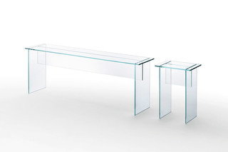 Sublimazione bench  by  GLAS ITALIA