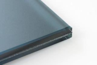 SWISSSATIN® Blaugrau metallic  von  Glas Trösch
