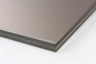 SWISSSATIN® bronze metallic  by  Glas Trösch