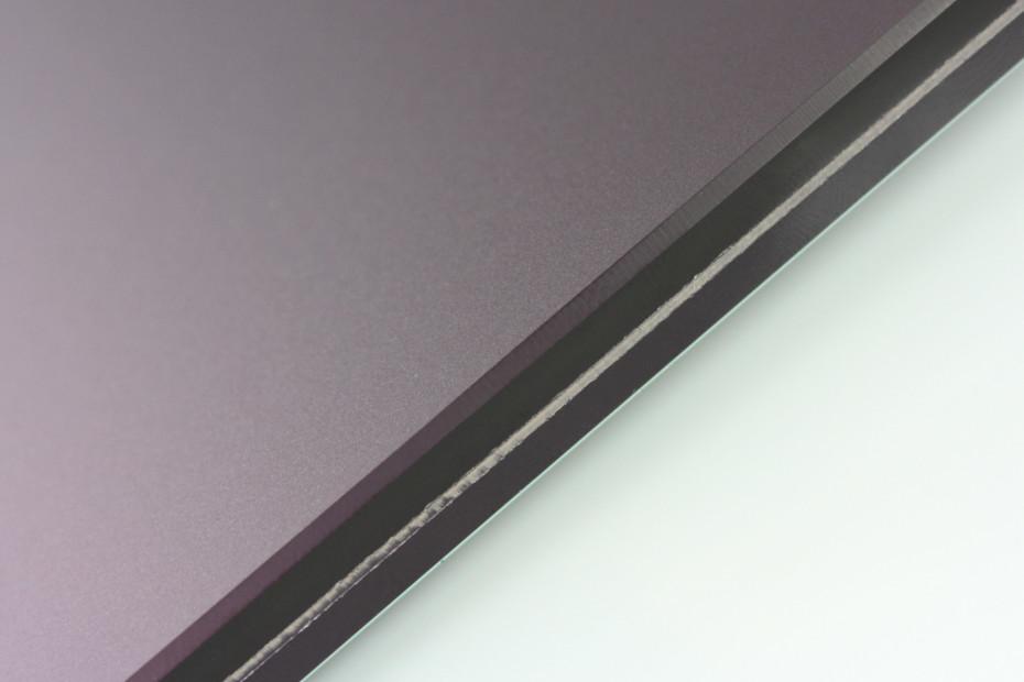 SWISSSATIN® Dunkelviolett metallic