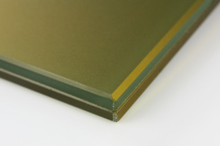 SWISSSATIN® gold metallic  by  Glas Trösch