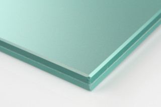 SWISSSATIN® light green metallic  by  Glas Trösch