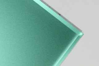 SWISSSATIN® middle green metallic  by  Glas Trösch