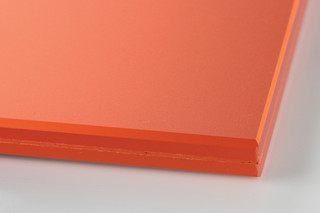 SWISSSATIN® orange metallic  by  Glas Trösch