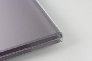 SWISSSATIN® Pastellviolett metallic  von  Glas Trösch