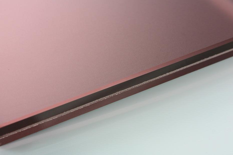SWISSSATIN® Rotbraun metallic