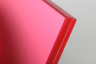 SWISSSATIN® red metallic  by  Glas Trösch