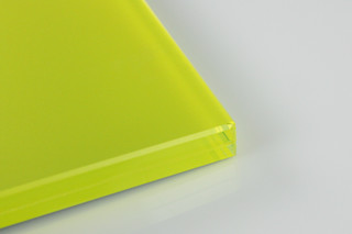 SWISSSATIN® Yellow Metallic  by  Glas Trösch