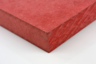 TOPAN MDF colour red  by  Glunz