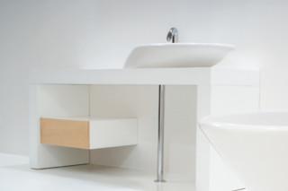 Touch washbasin 90  by  GSG Ceramic Design
