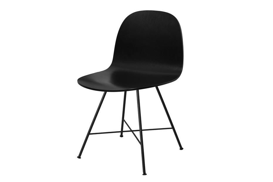 Chair I with metal legs