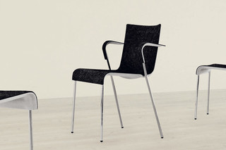 Chair II with arms  by  Gubi