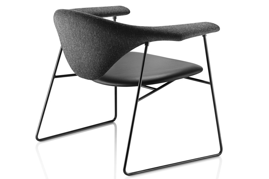 Masculo Lounge Chair Leder
