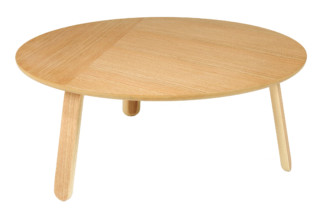 Paper coffee table L  by  Gubi