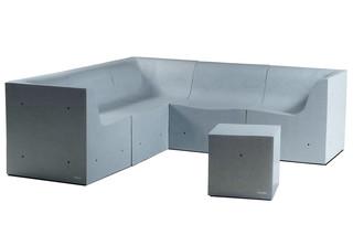 Softcrete divan units  by  Gufram