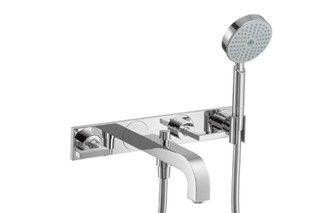 Axor Citterio 3-Hole Bath Mixer with lever handles and plate DN15  by  AXOR