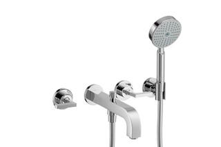 AXOR Citterio 3-Hole Bath Mixer with lever handles DN15  by  AXOR