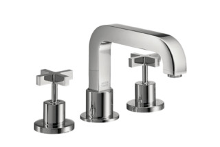 Axor Citterio 3-Hole Rim-Mounted Bath Mixer with cross handles DN15  by  Axor