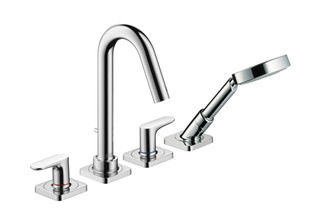 Axor Citterio M 4-Hole Rim-Mounted Bath Mixer DN15  by  AXOR