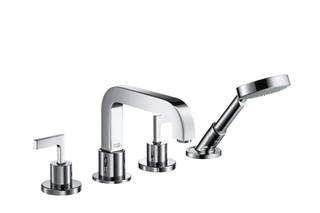 Axor Citterio 4-Hole Rim-Mounted Bath Mixer with lever handles DN15  by  AXOR