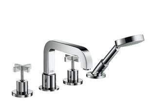 Axor Citterio 4-Hole Tile Mounted Bath Mixer with cross handles DN15  by  AXOR