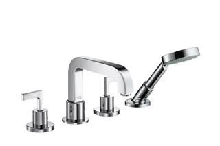 Axor Citterio 4-Hole Tile Mounted Bath Mixer with lever handles DN15  by  AXOR