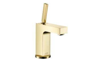 Axor Citterio Einhebel-Waschtischmischer gold  von  AXOR