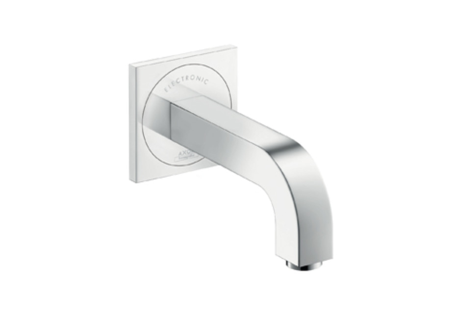 Axor Citterio Electronic Basin Mixer for concealed installation, with spout 160mm