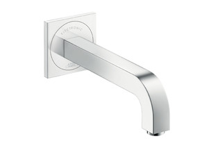Axor Citterio Electronic Basin Mixer for concealed installation, with spout 220mm  by  AXOR