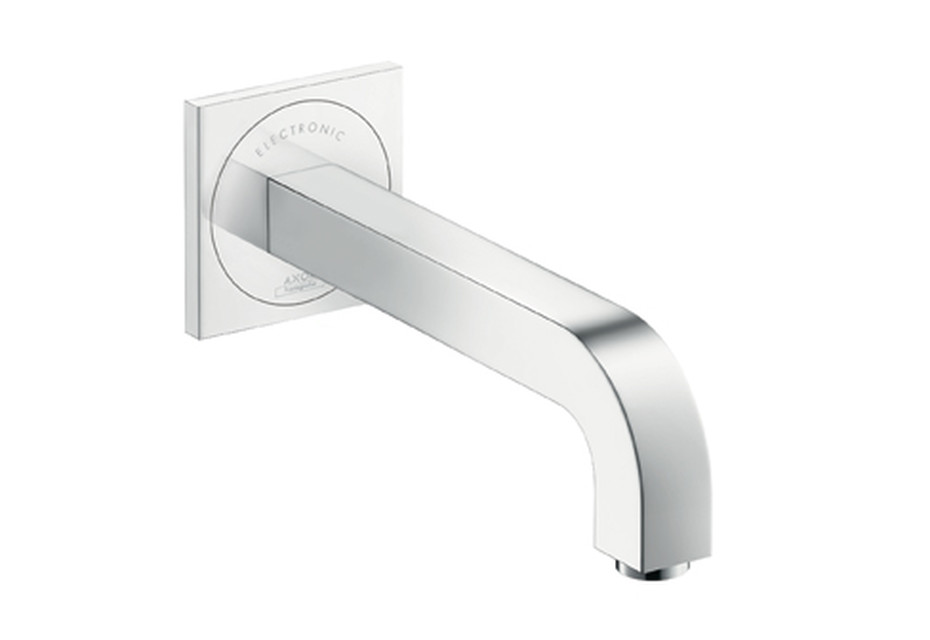 Axor Citterio Electronic Basin Mixer for concealed installation, with spout 220mm