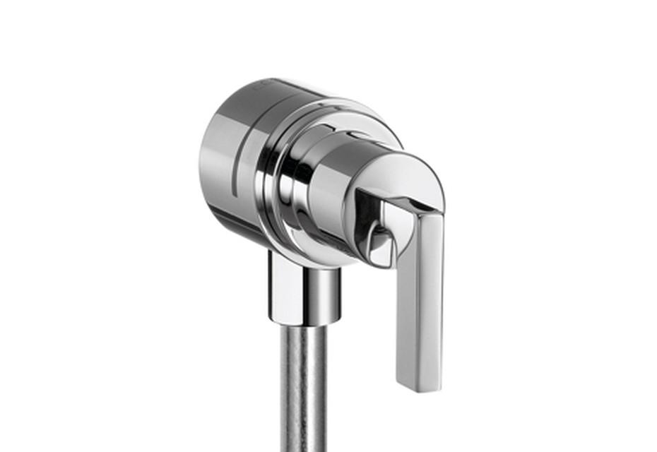 Axor Citterio Fixfit Stop Shut-Off Valve with lever handle DN15