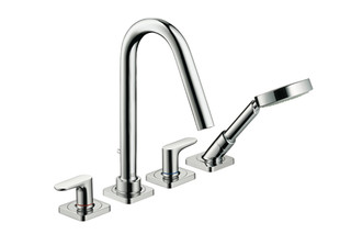 Axor Citterio M 4-Hole Tile -mounted Bath Mixer DN15  by  AXOR
