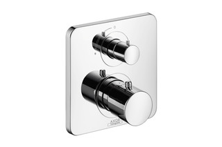 Axor Citterio M Thermostatic Mixer for concealed installation with shut-off valve  by  AXOR